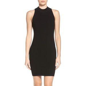 Rebecca Minkoff• Val Ribbed Zip Back Bodycon Dress